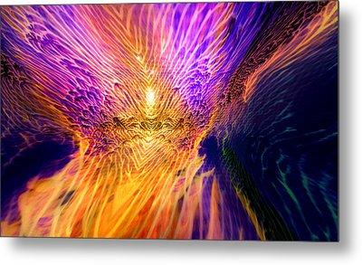 Radiant Flow Metal Print by Jason Fish