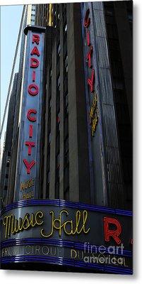 Radio City Music Hall Cirque Du Soleil Metal Print by Lee Dos Santos