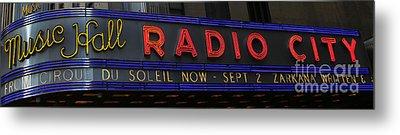 Radio City Music Hall Cirque Du Soleil Zarkana II Metal Print by Lee Dos Santos