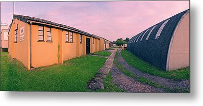 Raf Shepherds Grove Mess Hall Metal Print