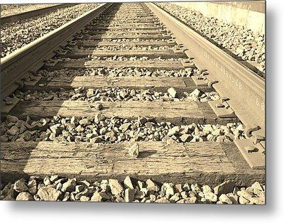 Rail Time Metal Print