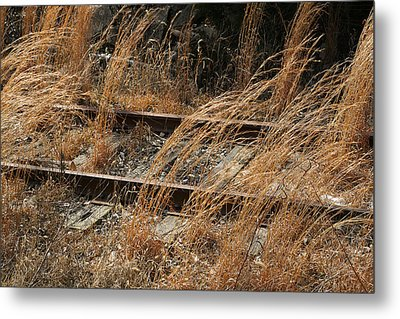 Rails Retired Metal Print