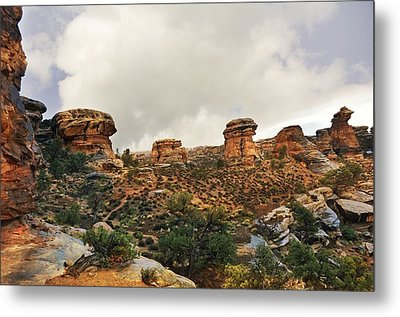 Rain At The Needles District Metal Print by Marty Koch