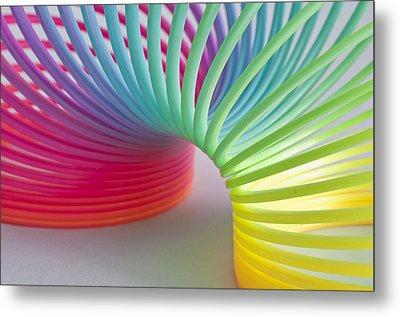 Rainbow 1 Metal Print by Steve Purnell
