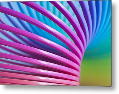 Rainbow 10 Metal Print by Steve Purnell