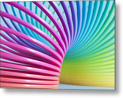 Rainbow 3 Metal Print by Steve Purnell