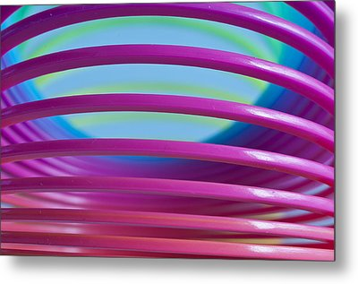 Rainbow 9 Metal Print by Steve Purnell