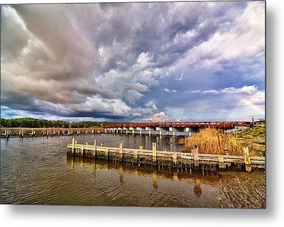 Rainbow Bridge Metal Print by Kelly Reber