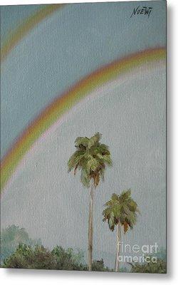 Rainbow Metal Print by Jindra Noewi