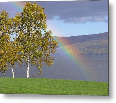 Rainbow's End Metal Print