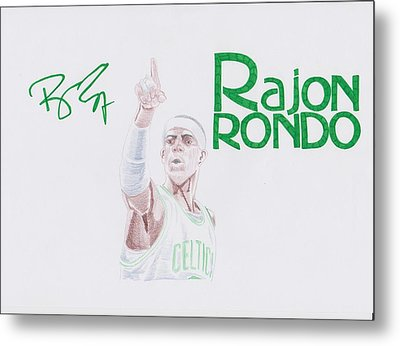 Rajon Rondo Metal Print by Toni Jaso