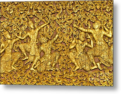 Metal Print featuring the photograph Ramayana by Luciano Mortula