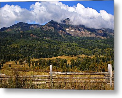 Ranchland Metal Print by Marty Koch