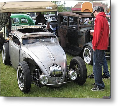 Rat Rod Many Parts Metal Print by Kym Backland