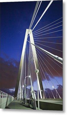 Ravenel Tower Metal Print by Donni Mac