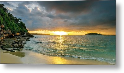 Rays Of Congwong Bay Metal Print