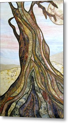 Reaching Metal Print by Doria Goocher