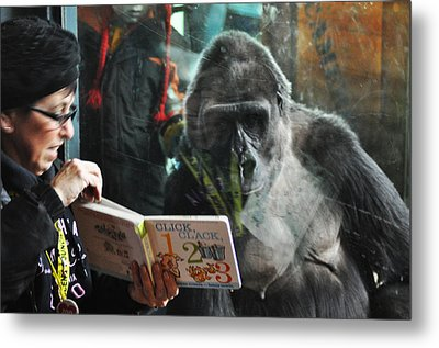 Reading Is Fundamental Metal Print by Bill Cannon