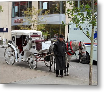Ready For A Buggy Ride Metal Print by Val Oconnor