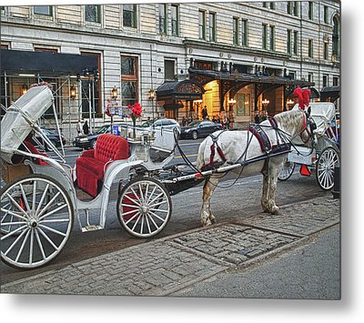 Ready For A Ride Metal Print by Kathy Jennings
