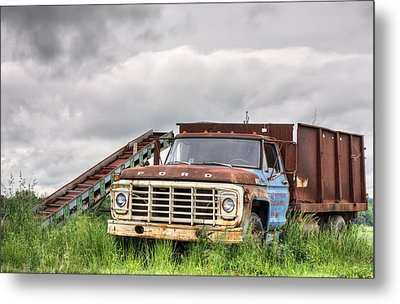Ready For The Harvest Metal Print by JC Findley