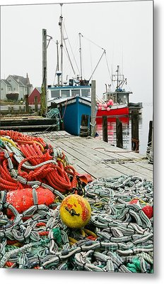 Ready To Go Metal Print by Frank Townsley