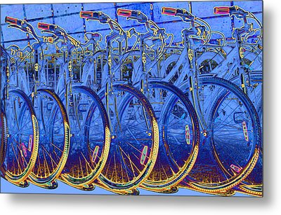 Ready To Roll Metal Print by Barbara  White