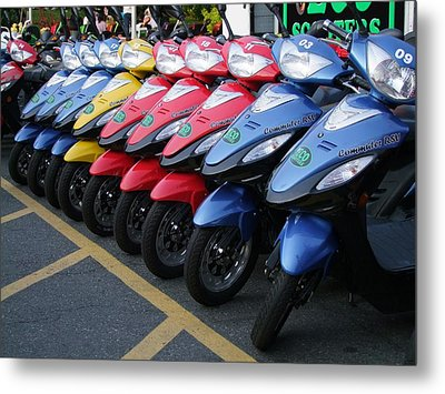 Ready To Roll Metal Print by George Cousins