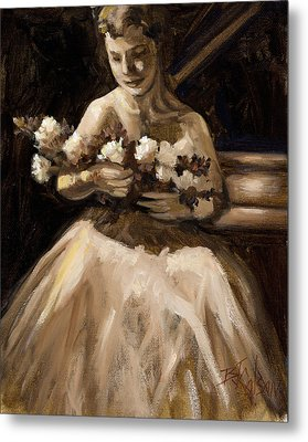 Recital Metal Print by Billie Colson