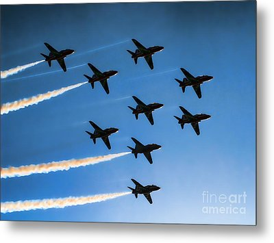 Red Arrows Metal Print by Graham Taylor
