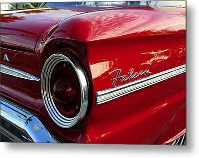 Red Falcon Metal Print by David Lee Thompson