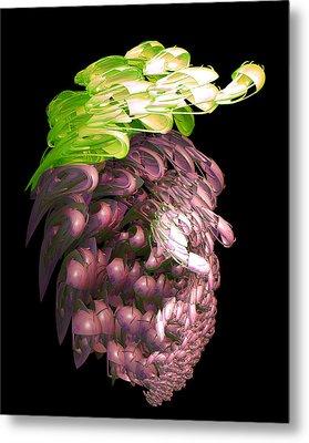 Red Grapes Metal Print by Linda Phelps