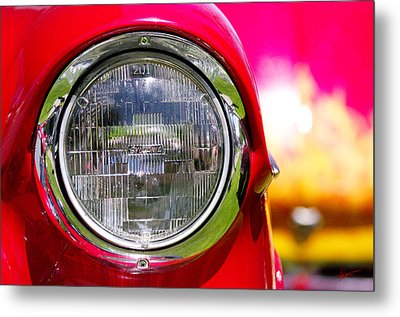 Red Hot Metal Print by Vicki Pelham