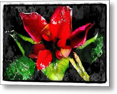 Red Leaves Metal Print by Mauro Celotti