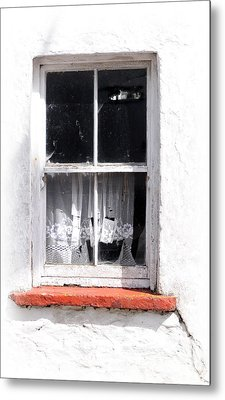 Red Sill Metal Print by Marion Galt