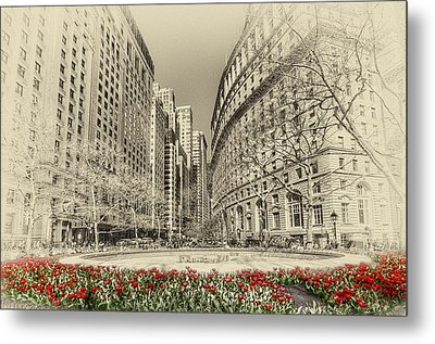 Red Tulips Metal Print by Svetlana Sewell