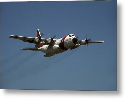 Metal Print featuring the photograph Red White And Blue by Steven Sparks