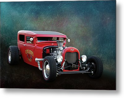 Metal Print featuring the photograph Redd Rod by Bill Dutting