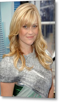 Reese Witherspoon Wearing A Rodarte Metal Print by Everett