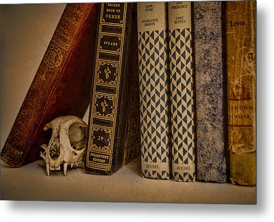 Reference Metal Print by Heather Applegate