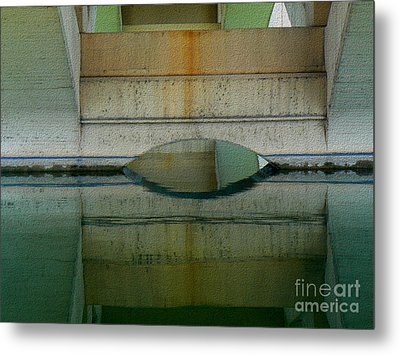 Metal Print featuring the photograph Reflected by Lin Haring