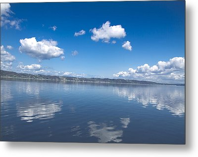 Reflecting Sky Metal Print by Julie Smith