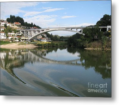 Metal Print featuring the photograph Reflection by Arlene Carmel