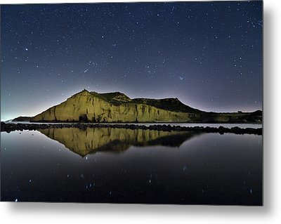 Reflection In Lake Metal Print by Ser-y-star