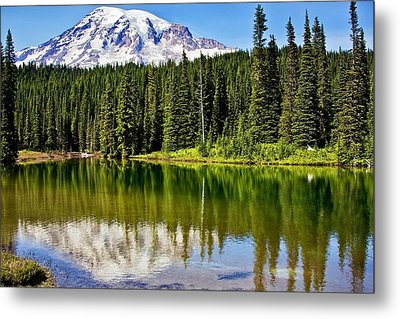 Reflection Lake Metal Print