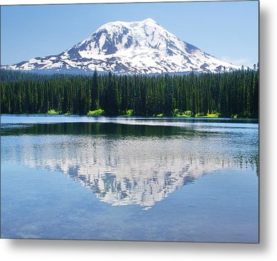 Reflection Of Adams Metal Print