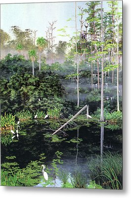 Reflections 1 Metal Print by Kevin Brant
