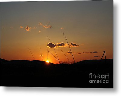 Metal Print featuring the photograph Reflections At Dusk by Everett Houser