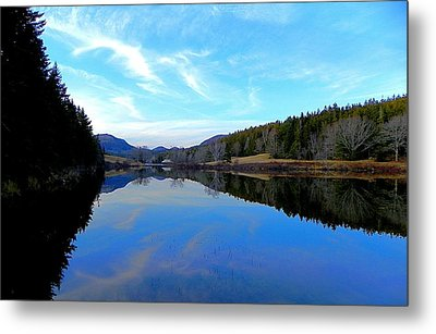 Reflections Metal Print by Jamie  Campbell