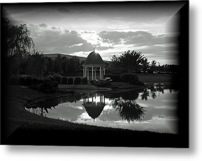 Metal Print featuring the photograph Reflections by Karen Harrison